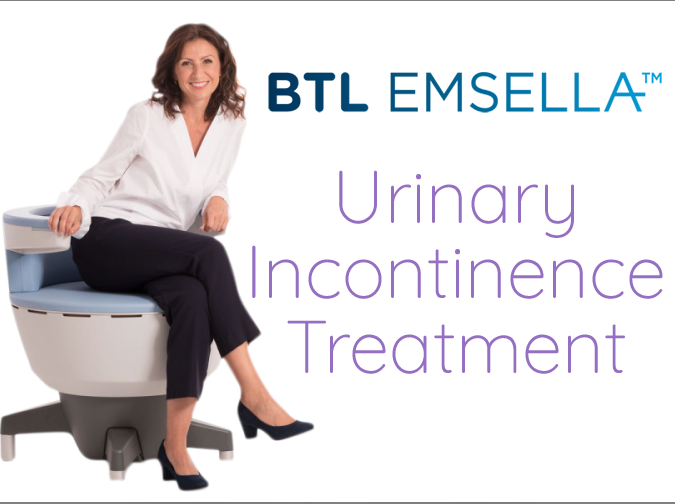 EmSella Chair - Urinary Incontinence - Flint
